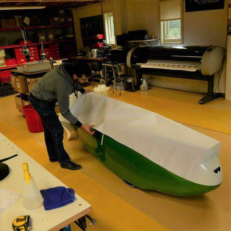 Velomobile cover for Alfa 7, Milan GT and Milan SL-image