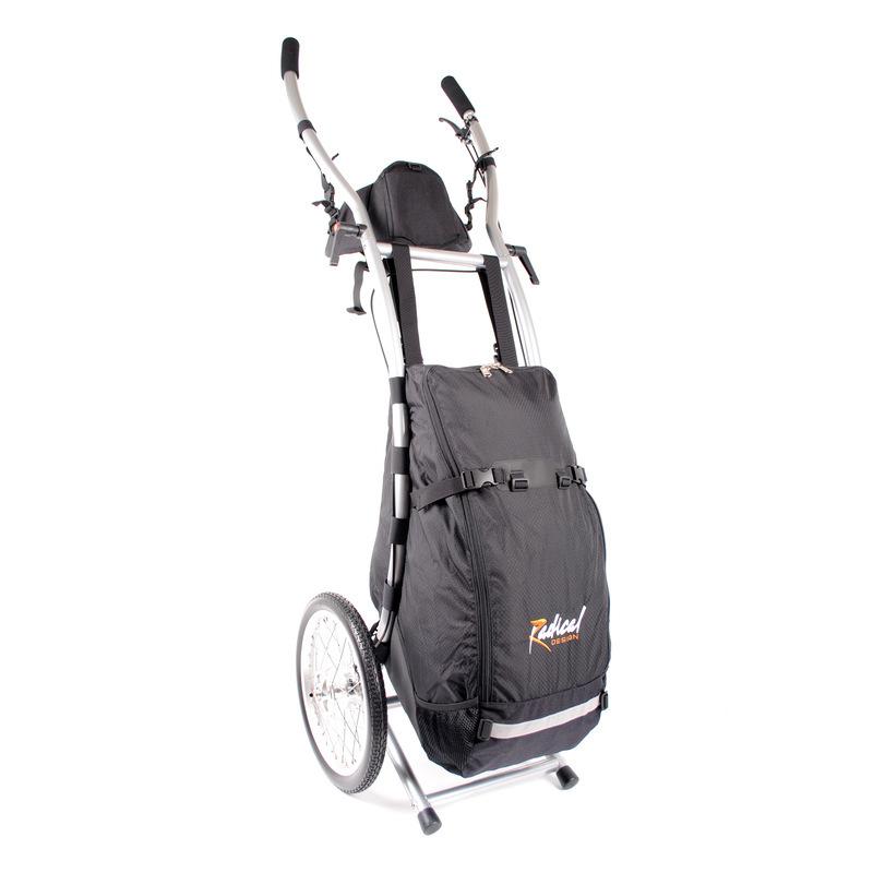 Wheelie V Traveller HD Wanderanhänger gebremst