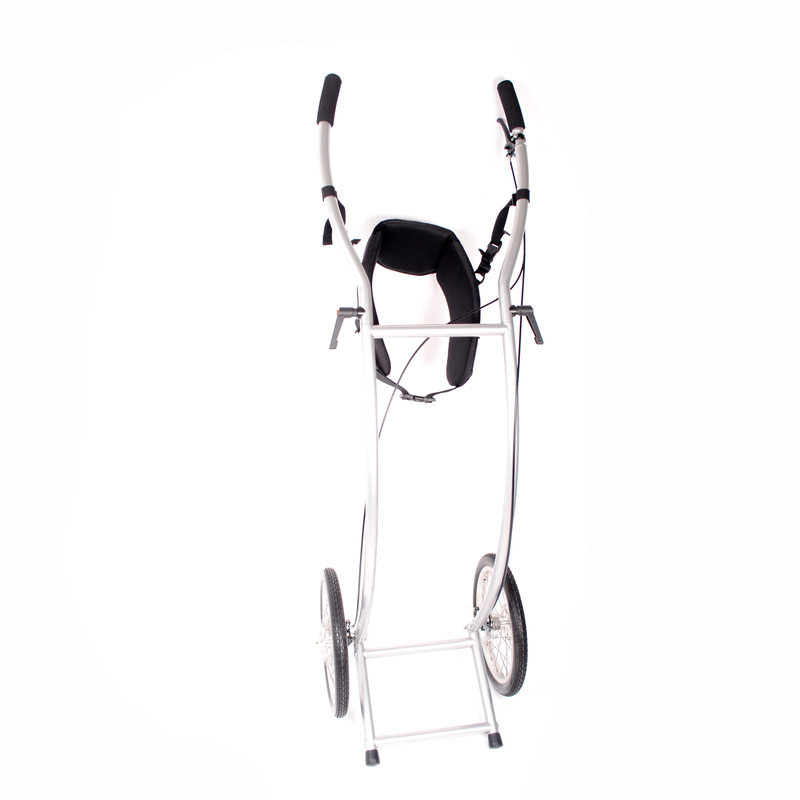 Wheelie V Skeleton Wanderanhänger gebremst
