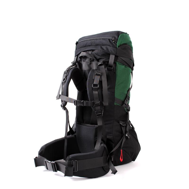 30002 Pulsar60 Expedition Backpack Green Back