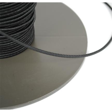 Elastische Kordel 3mm schwarz