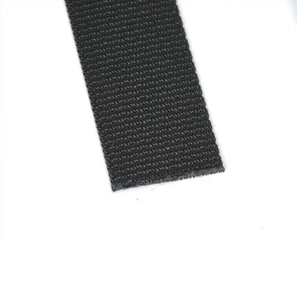 Polyester Gurtband schwarz