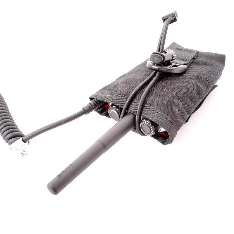 Tasche für Funkgeräte Hytera mit Sprechschlüssel