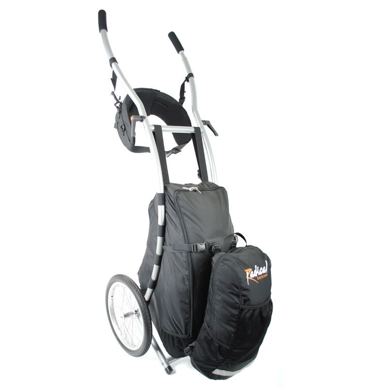 Satellite For Wheelie Traveller Walking Trailer 1