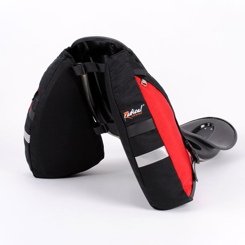 Solo Racer Wide Recumbent Bag On Seat 1