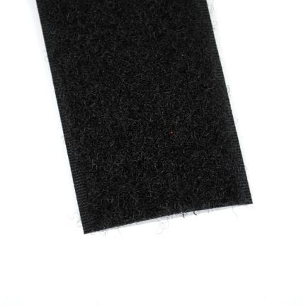 Klettband schwarz 38 mm Schleife