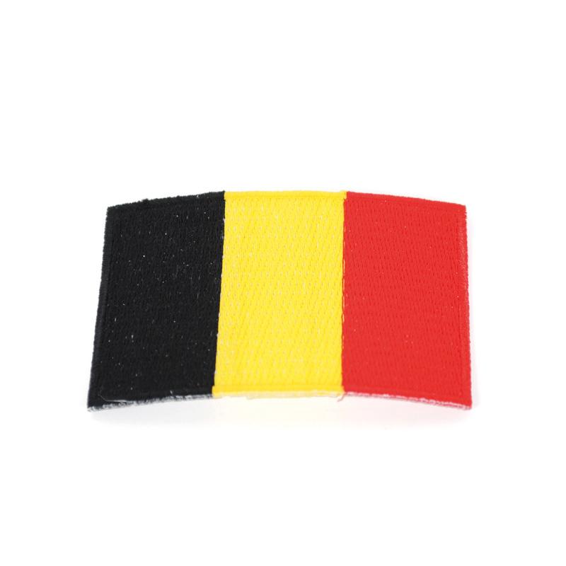 Aufnäherflagge Belgien