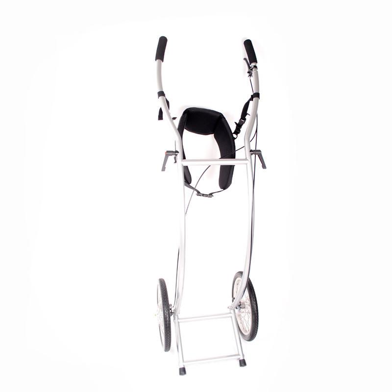 Wheelie V Skeleton gebremst