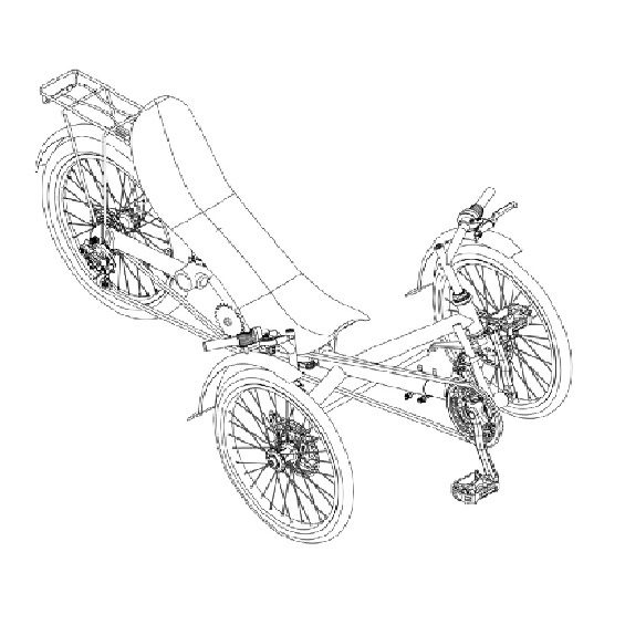 Specbike Folding Tricycle ST